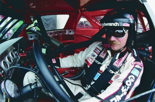 "Dale Earnhardt Sr. was called ""The Intimadator"" for a reason"