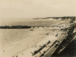 Bournemouth Pier from East Cliff