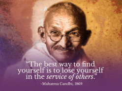 When in doubt, check with Gandhi!