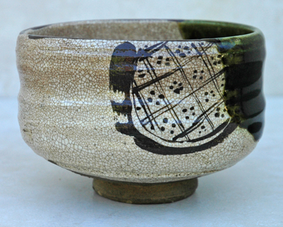 Cha-wan tea bowl is typically an earthen ware.