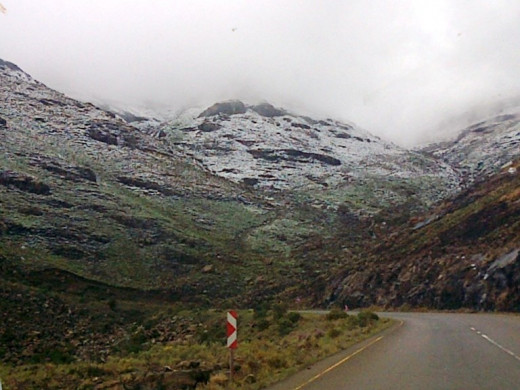 Snow on the Maluti Mountains © Martie Coetser
