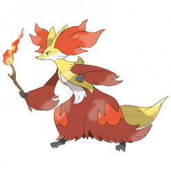Pokémon X and Y Walkthrough, Pokémon Move Sets: Delphox