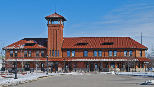 Pere Marquette Railroad Depot — Bay City, Michigan