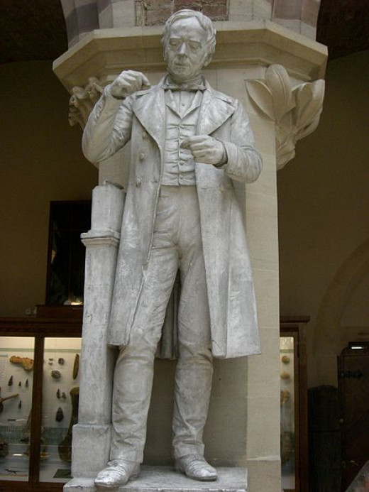 Statue of Hans Christian Orsted