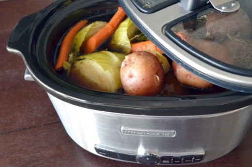 You need a large crock pot to get the job done.