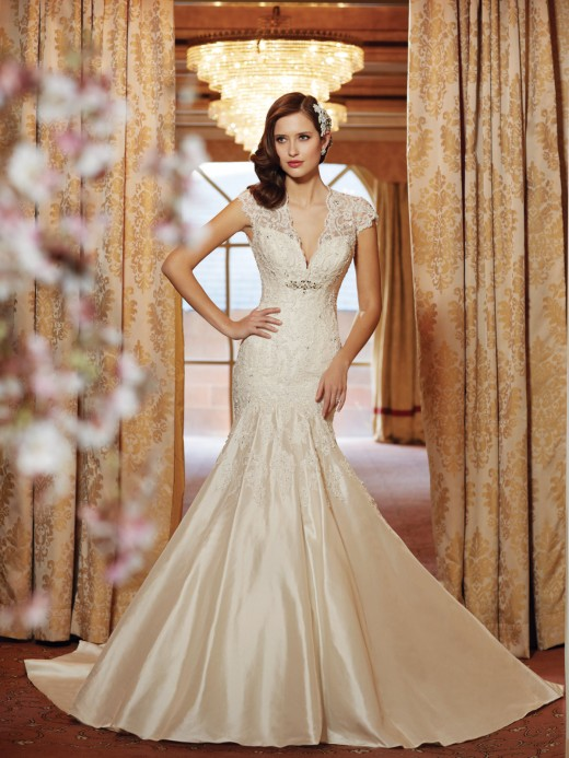 Romance and sophistication make this dress breathtakingly inspirational. Style #11413 2014 Spring Collection