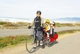 Biking together