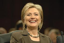 Hillary Clinton, the most powerful woman in the world.