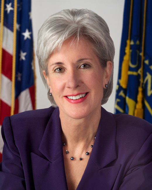Kathleen Sebelius is the former Secretary of Health and Human Services and earned her MPA from the University of Kansas.