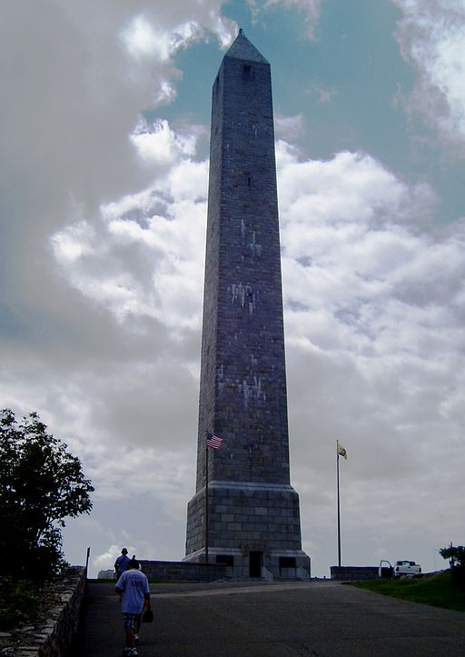 High Point, the highest spot in New Jersey is crowned with an obelisk monument.