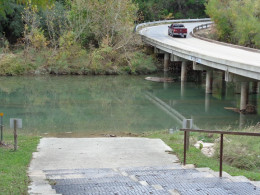 River Access Point and Fourth Bridge Crossing