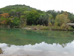 View of the River from the River Access Point