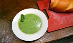 Cauliflower And Watercress Soup