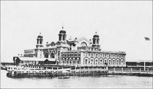 For many people Ellis Island is the symbol of immigration into the United States. A large amount of the processing of immigrants took place there.