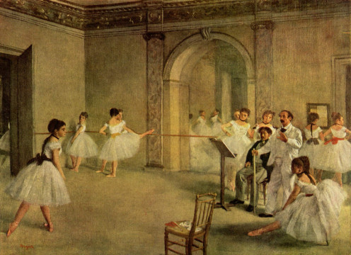 Painting by Edgar Degas.