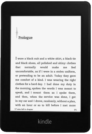 front view of Kindle Paperwhite