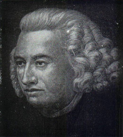 Samuel Johnson attempted to standardise English with his compilation of the first dictionary.