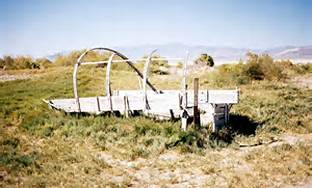 "Old Wagon From ""The Death Route"" / Black Rock Desert"