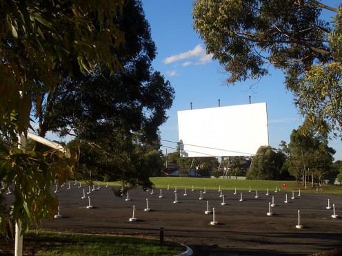 Drive-in movies are all over the world
