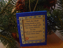 Do It Yourself Christ-Centered Christmas Ornaments