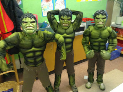 Halloween celebrated at a Canadian Public School