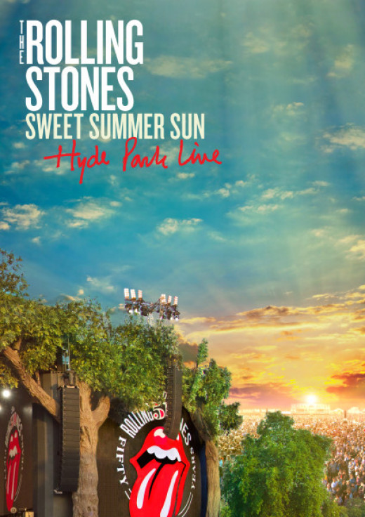Rolling Stones triple DVD cover, 'Sweet Summer Sun'