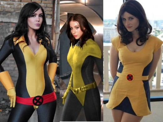 Kitty Pryde Cosplay Costume