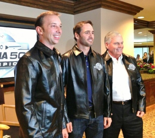 Crew chief Chad Knaus, Jimmie Johnson and owner Rick Hendrick have been the team to beat since the season started