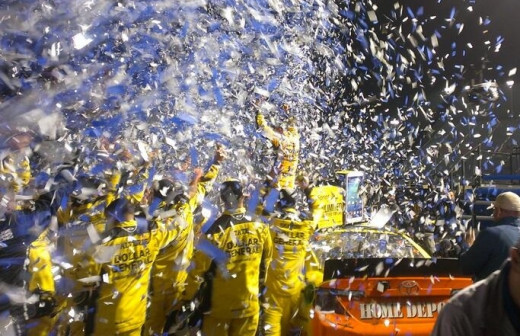 Matt Kenseth won seven races this season and nearly won his second Cup title