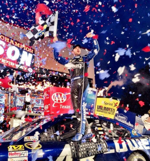 Johnson won at Texas two weeks ago and can seal up a sixth Sprint Cup by finishing 23rd or better