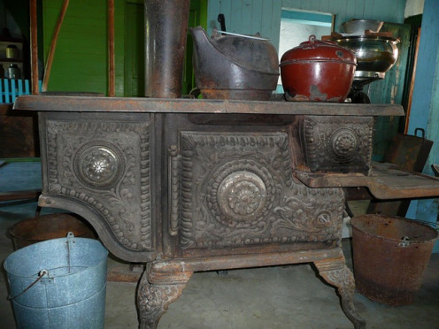 The old iron stove took much lonnger to coook meals than our modern applicnaes. Still, we want faster meals.