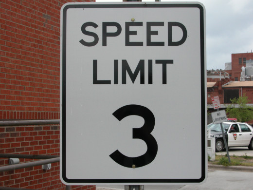 Careful! You don't want to be caught going 4 mph instead of 3 in this North Carolina town!