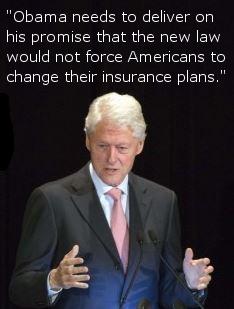video screen capture of Bill Clinton
