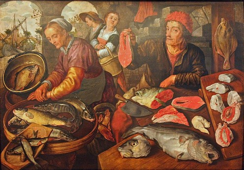 Painting by Joachim Beuckelaer.
