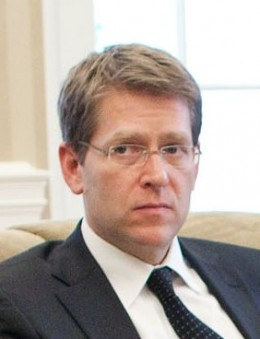 President Obama's Press Secretary, Jay Carney. 29th Press Secretary to hold this position for a president.