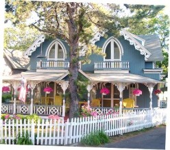 """Traditionally, a white picket fence means """"home"""". But that fence doesn't paint itself..."""