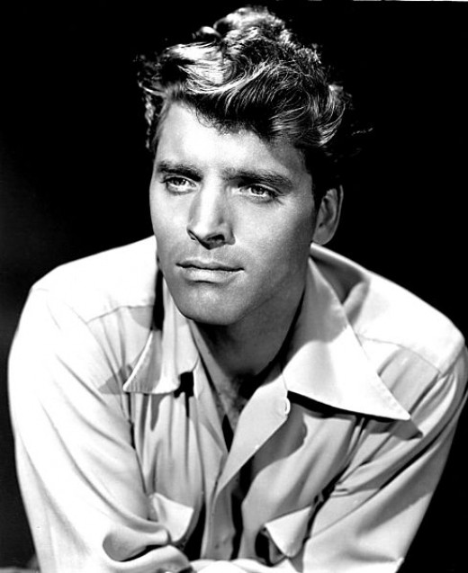 A publicity still of Burt Lancaster in 1947.