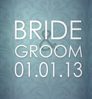 Beautiful pale blue wedding koozies design.
