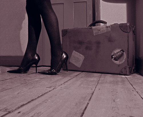 She's leaving home, bye bye from Richard flickr.com