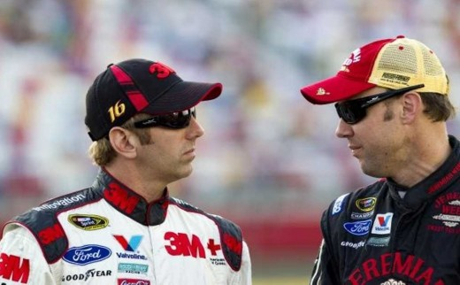 Biffle and Kenseth, former teammates, are both past their 40th birthdays