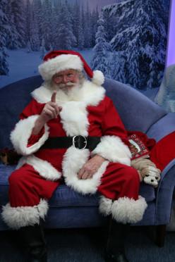 Santa at the Mall