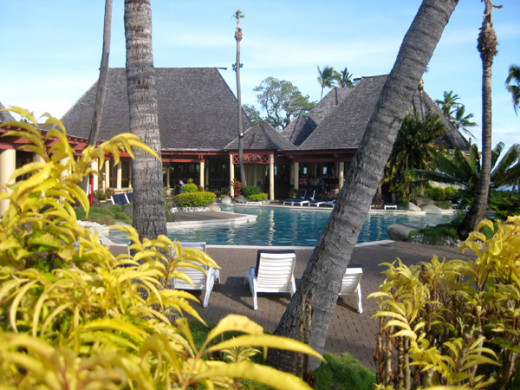 The Takali Terrace Restaurant is near the adults-only pool.
