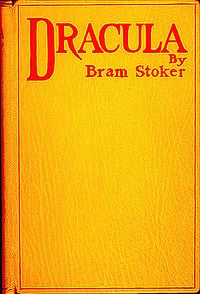 Bram Stoker's Dracula first edition