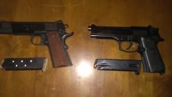 M1911 vs. M9 Beretta
