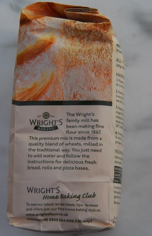 Wright Premium Bread Home Baking Club