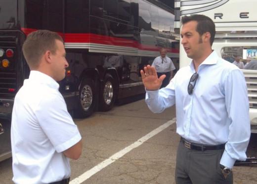 Hornish filled in when fellow Penske driver AJ Allmendinger was released in mid 2012