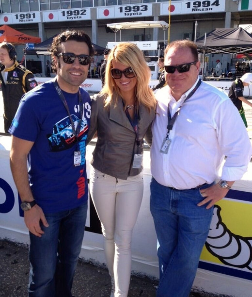 Franchitti brought star power off the track and success on it