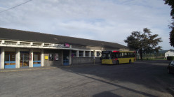 TEC bus in front of Givet Station
