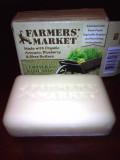 Farmers Market Lemongrass Basil Soap review!