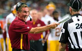 Redskins Coach Mike Shanahan